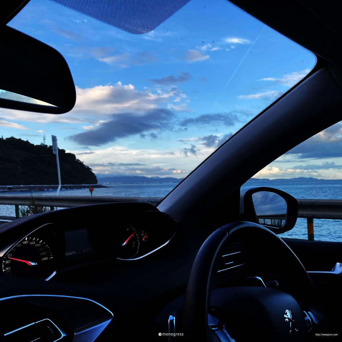 308SWで熱海ドライブ