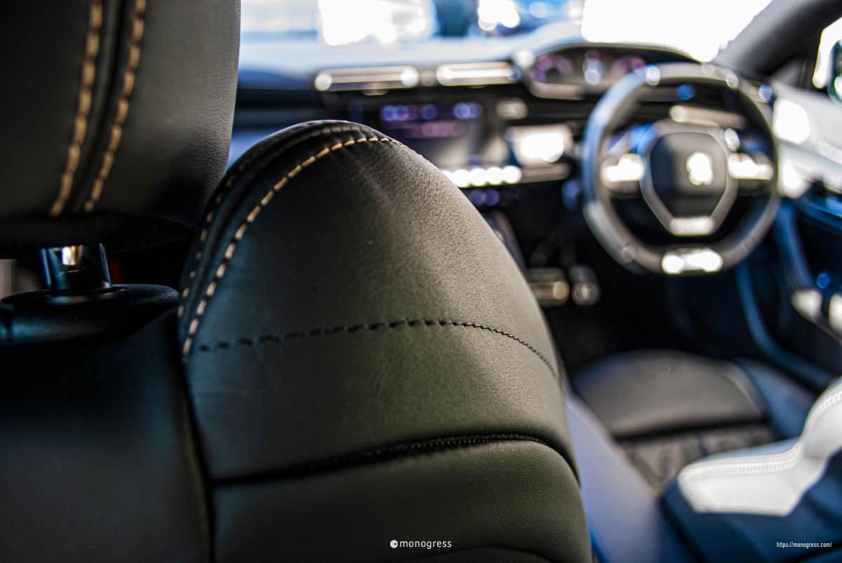 Peugeot 508 シート&i-Cockpit