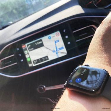 CarPlay生活を更に幸せにするAppleWatch5を買ってみた