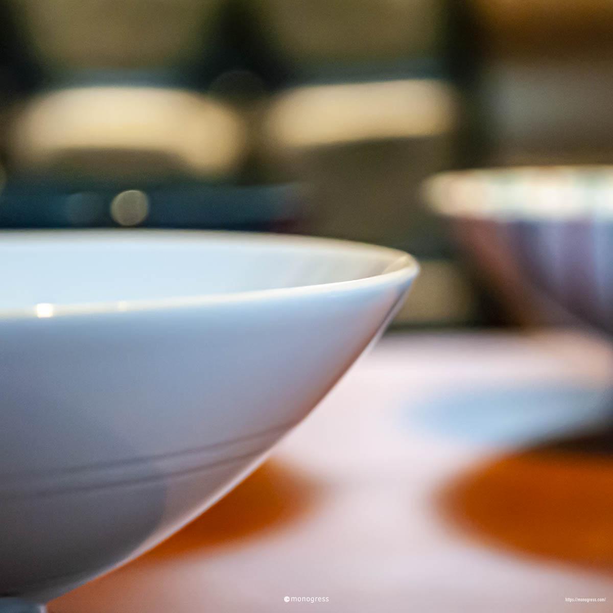 白山陶器 平茶わん(平めし茶碗)