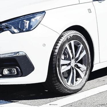Peugeot 308SW サスペンションとアンダーステア