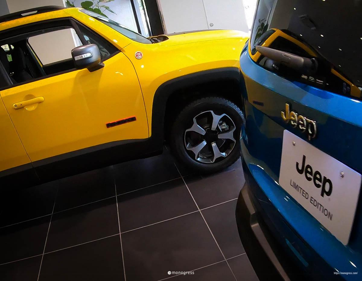 Jeep レネゲード リミテッド&トレイルホーク