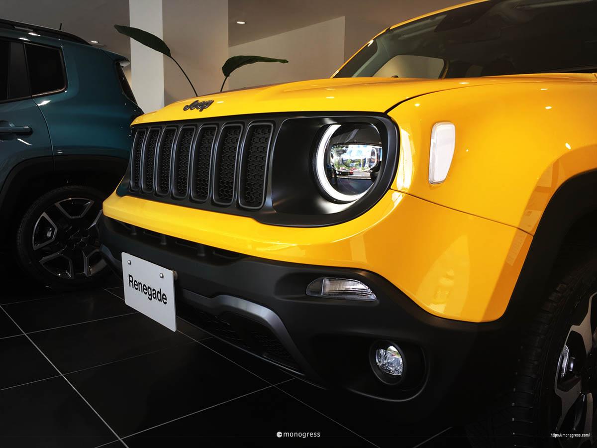 Jeep レネゲード ヘッドライト