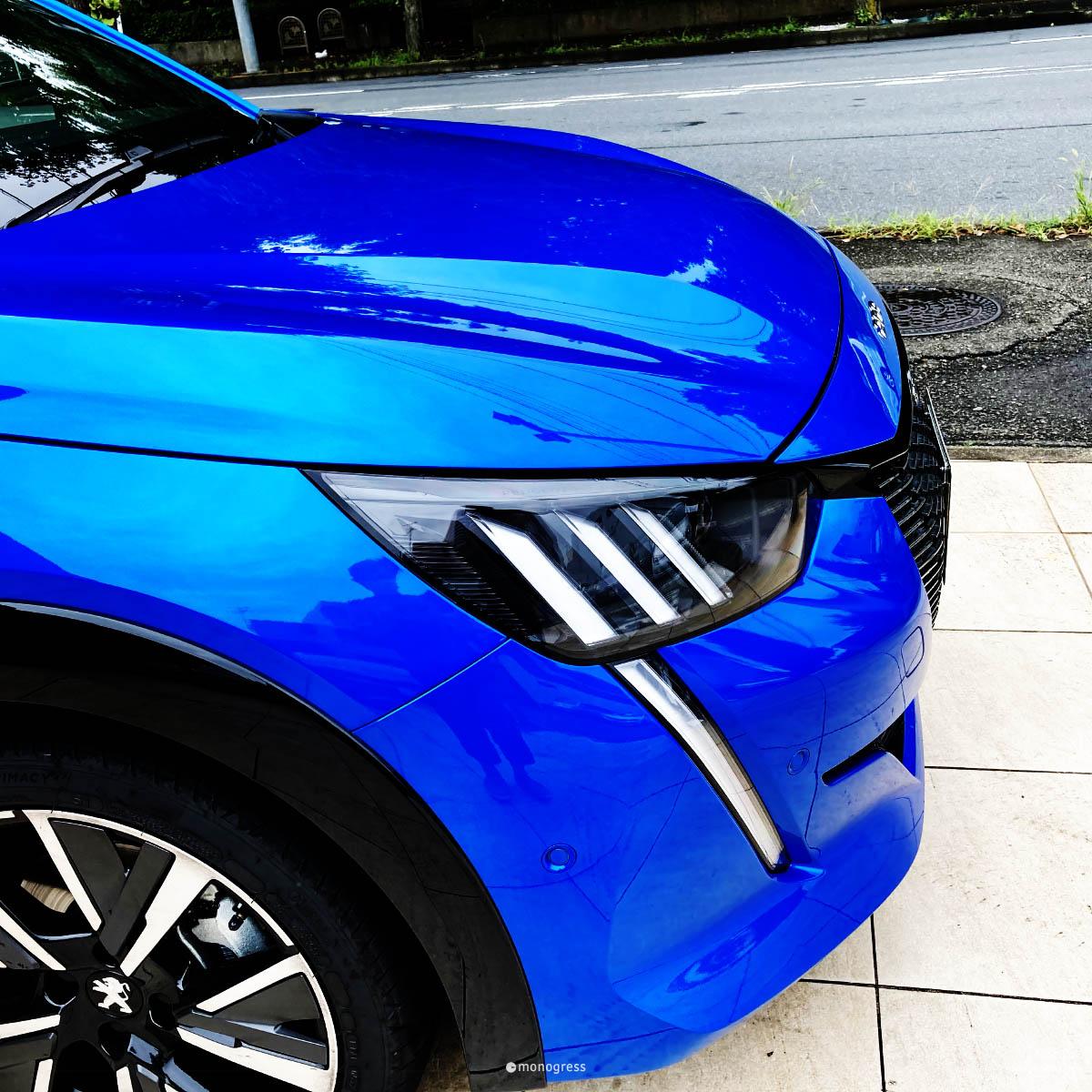 Peugeot 208 ヘッドライト
