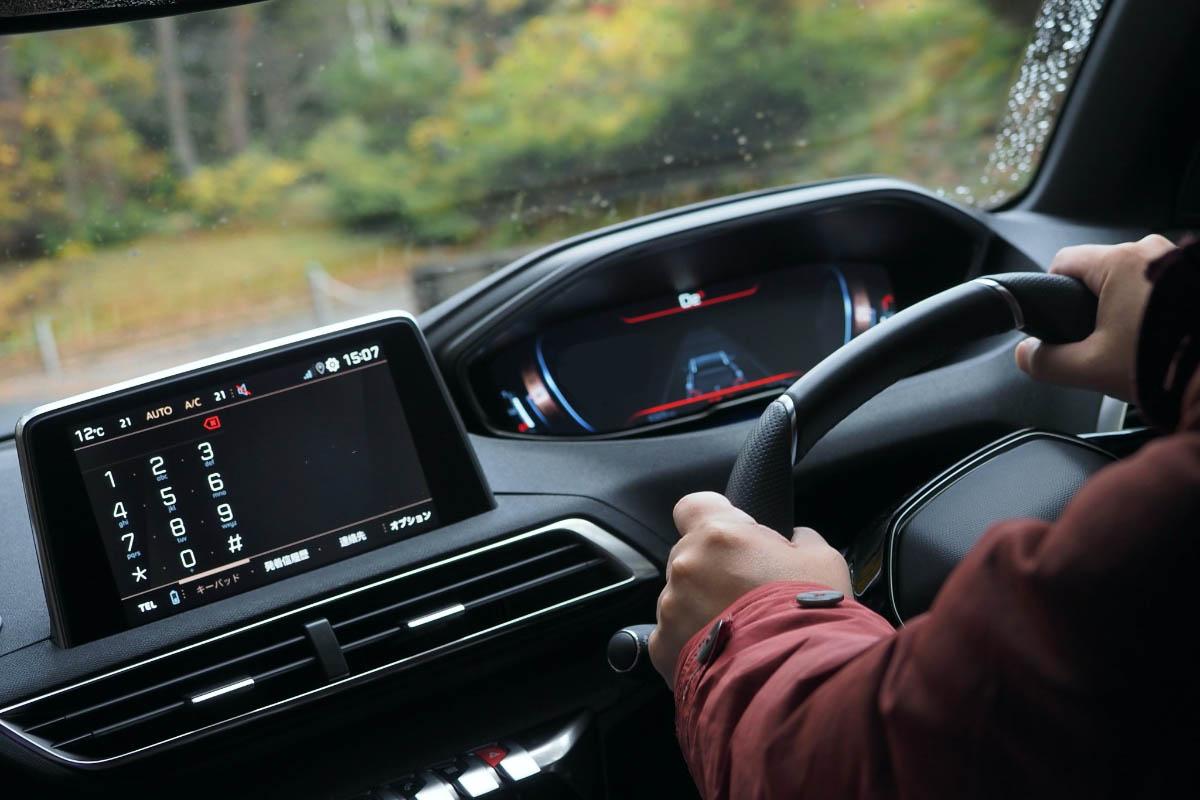 Peugeot 3008 i-Cockpitでドライブを愉しむ