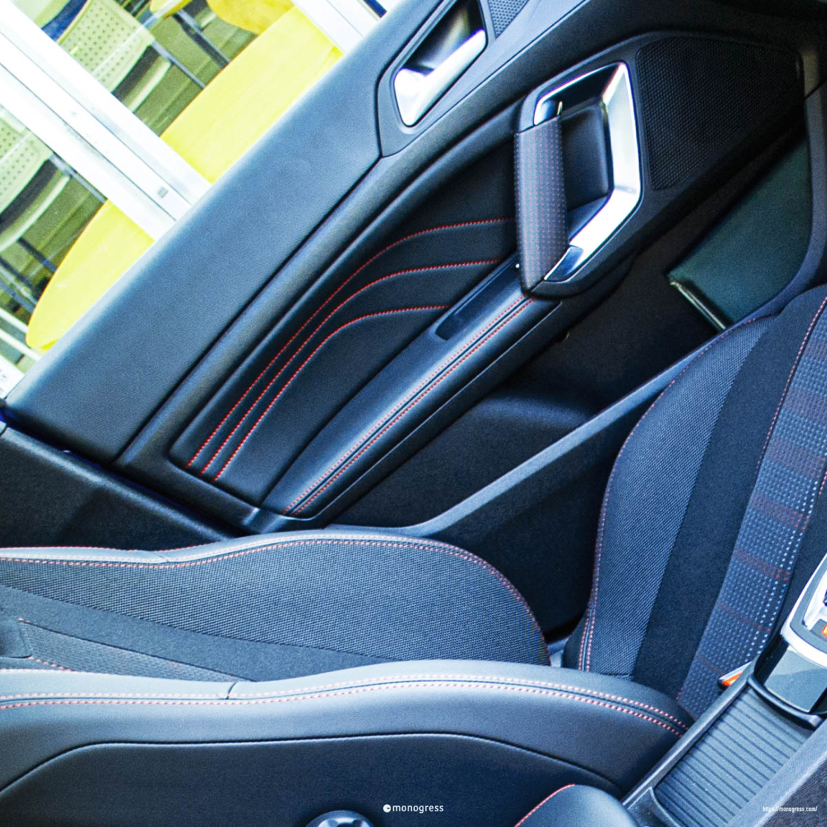 308 GT インテリア