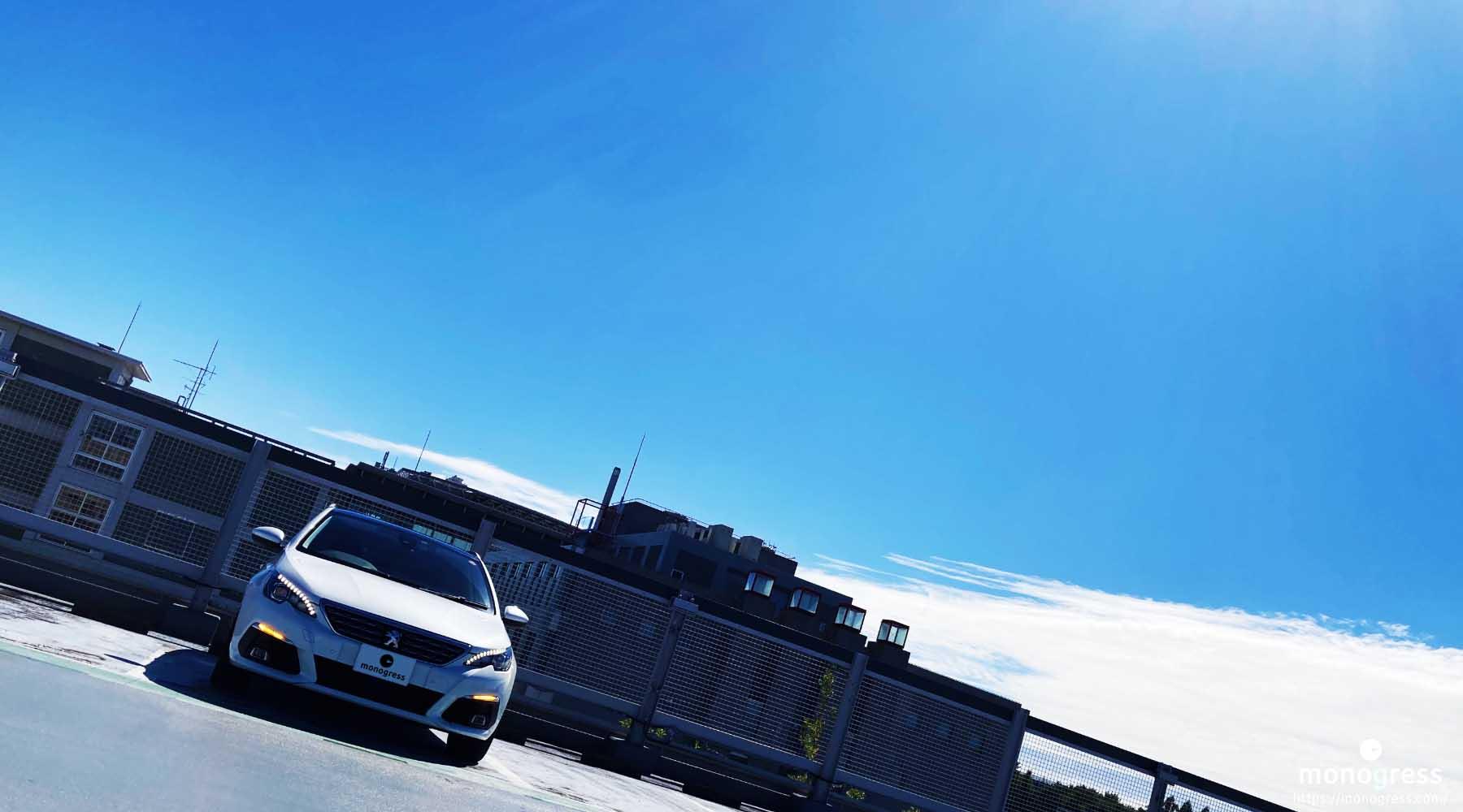 Peugeot 308 日吉にて