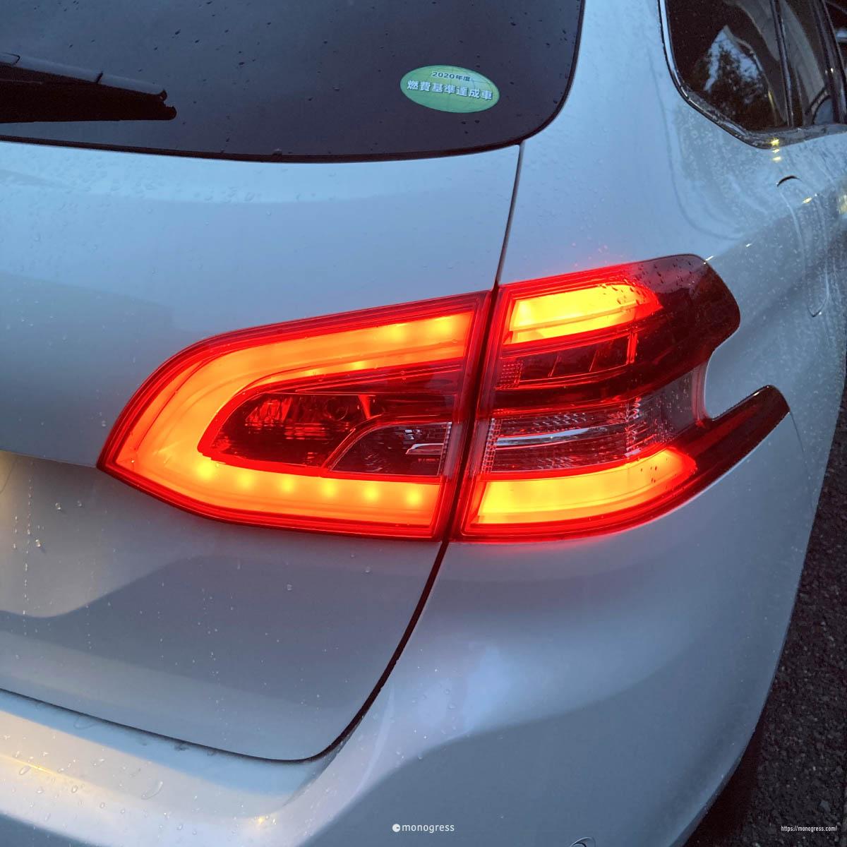 Peugeot 308 リアコンビネーションランプ
