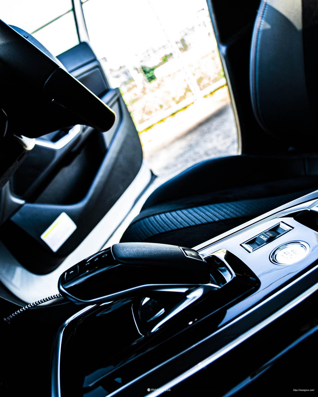 Peugeot 308SW TECH PACK EDITION シフトレバー