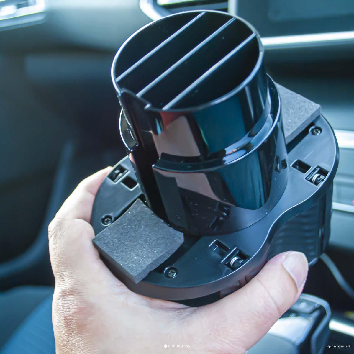 プジョー308SWカップホルダー改造用ツインホルダー