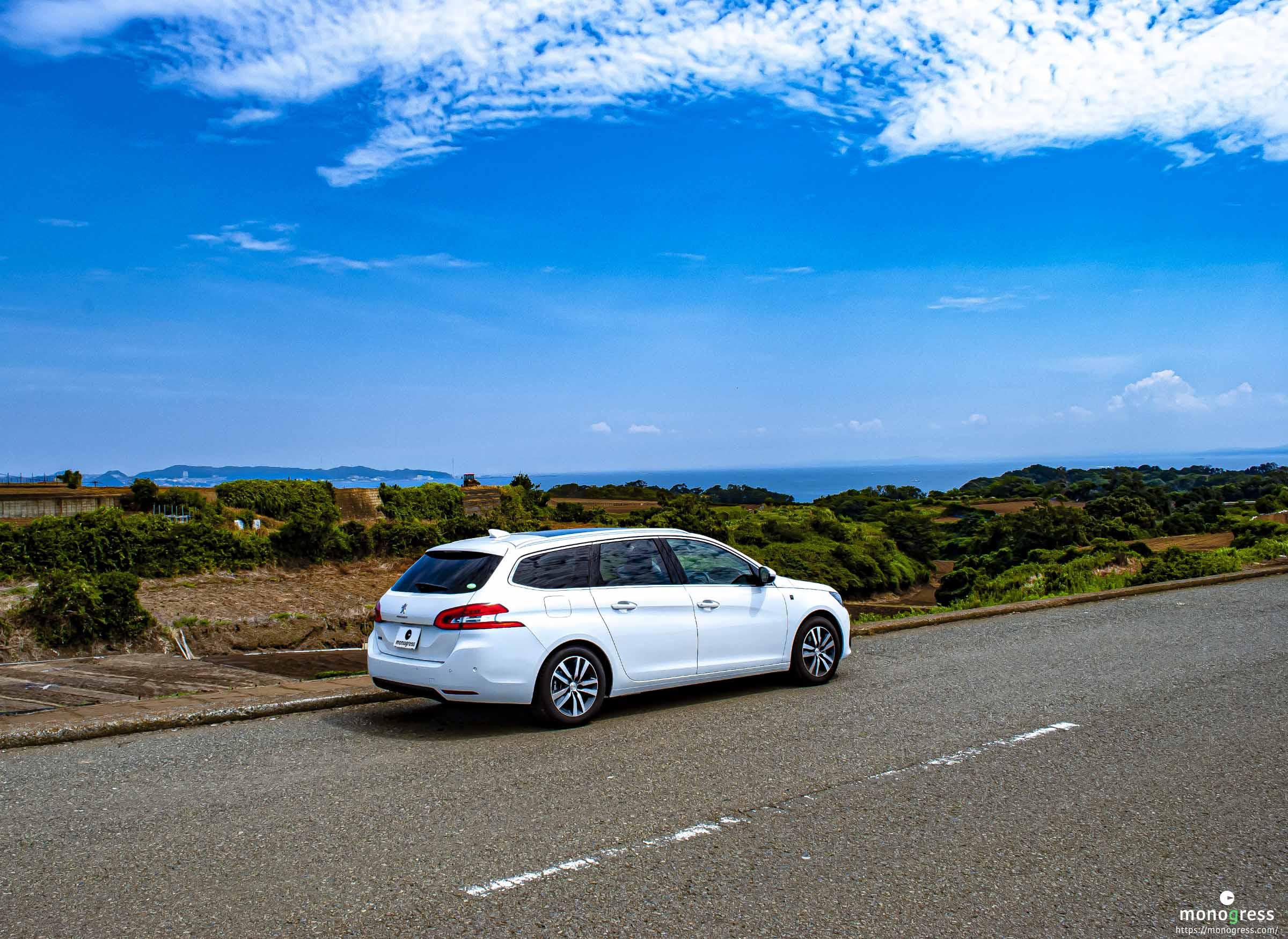 Peugeot 308SW 2020 夏の三浦