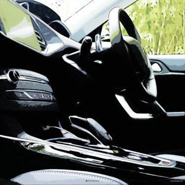 Peugeot 308SW TECH PACK EDITIONのインテリアを撮りまくり