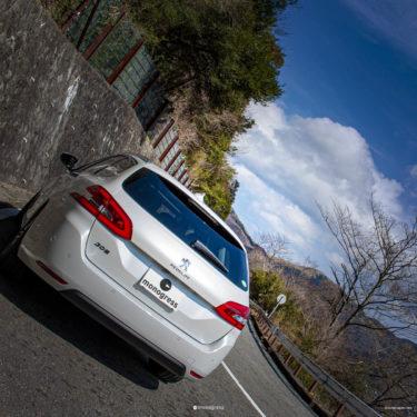 Peugeot 308SW のテールランプってカギ爪じゃないよね?