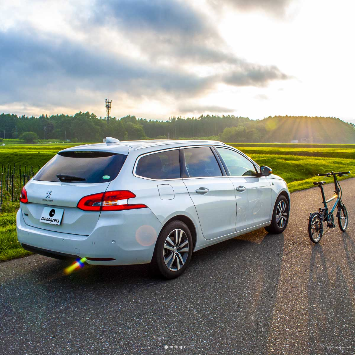 Peugeot-308SW and Tyrell IVE