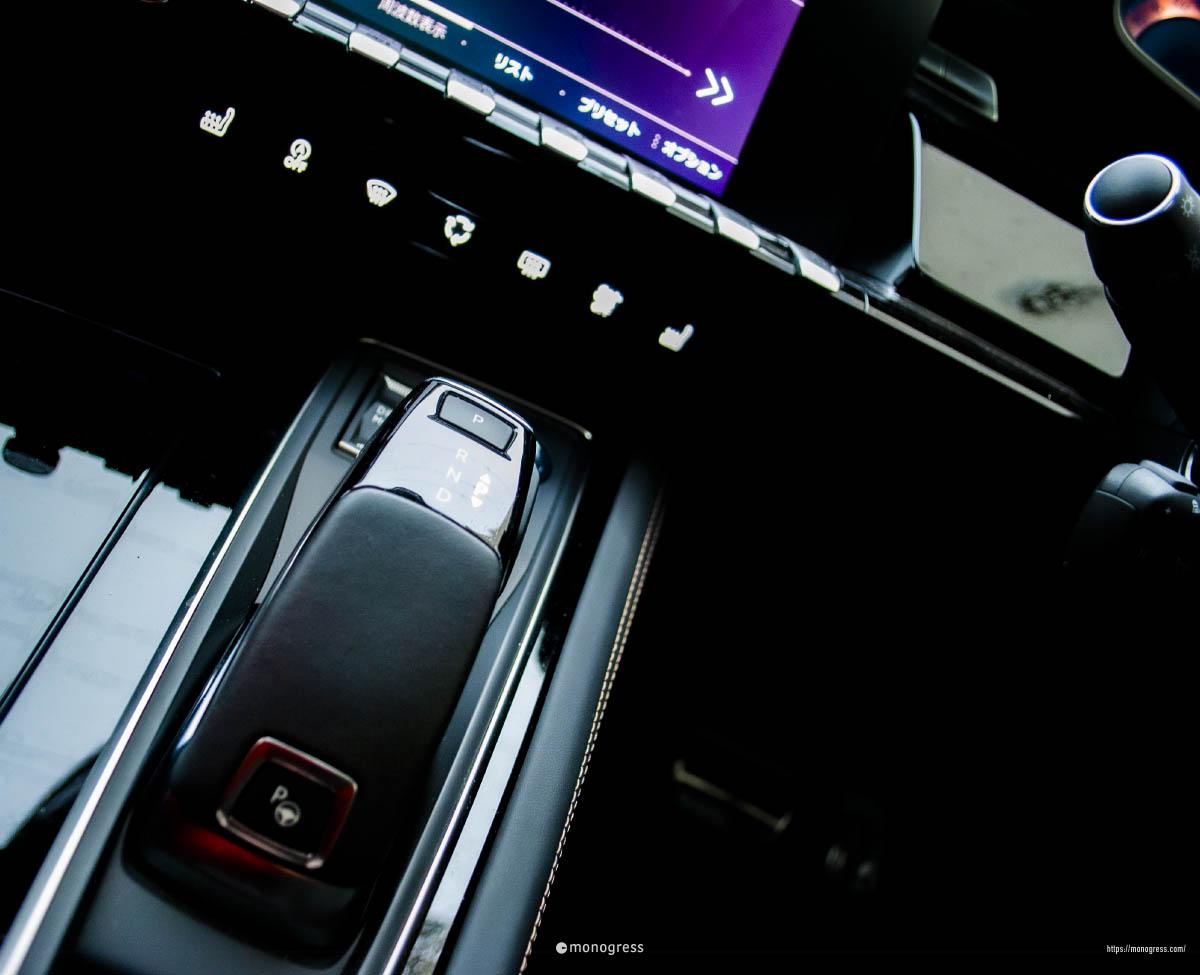 Peugeot 508 シフトレバー