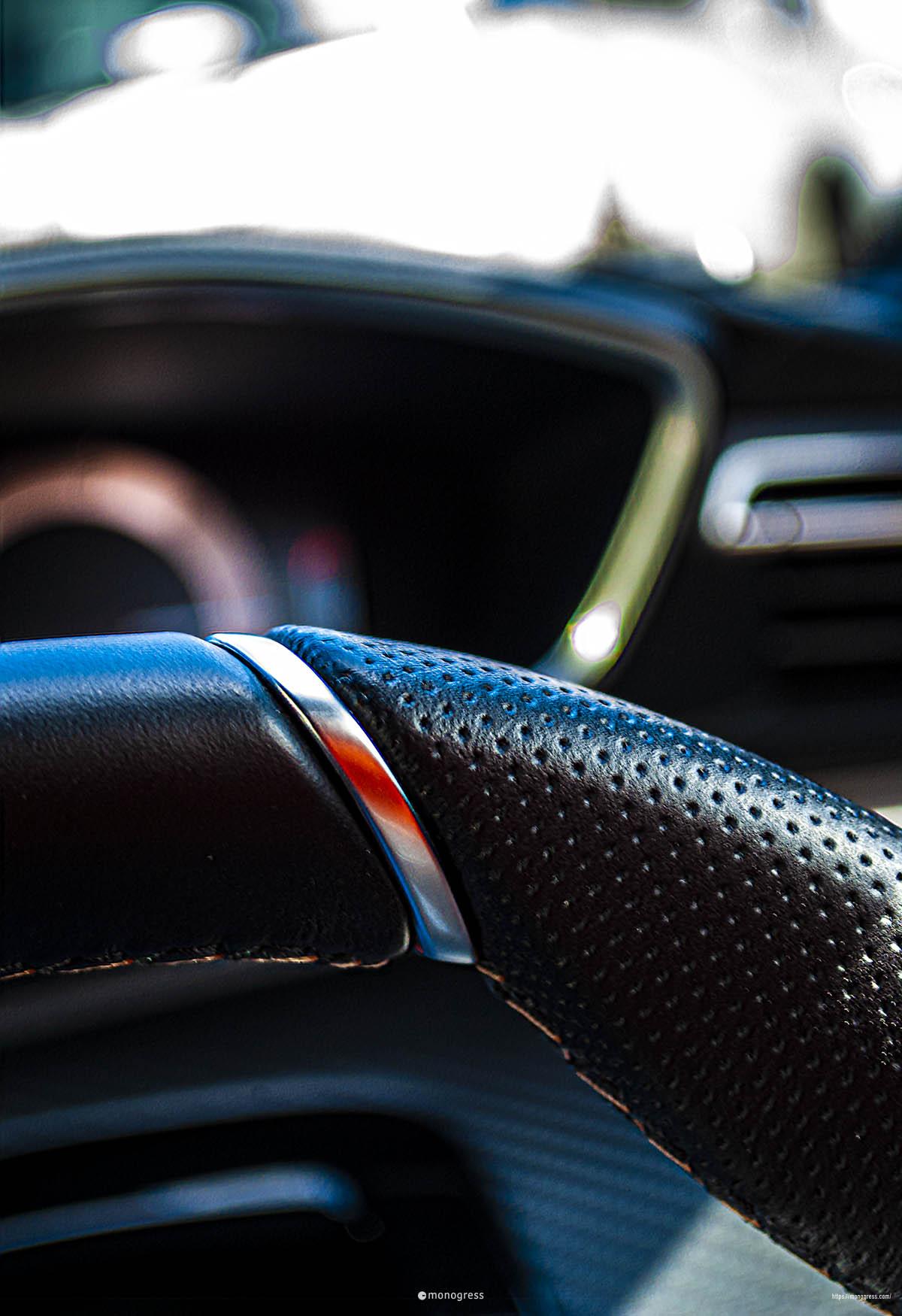 Peugeot 508 ステアリング