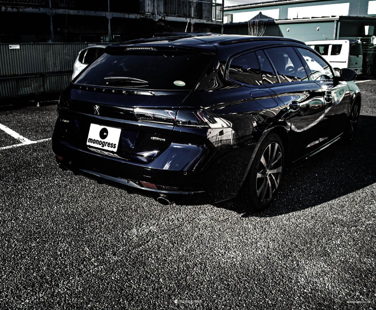 Peugeot 508SW リアゲート