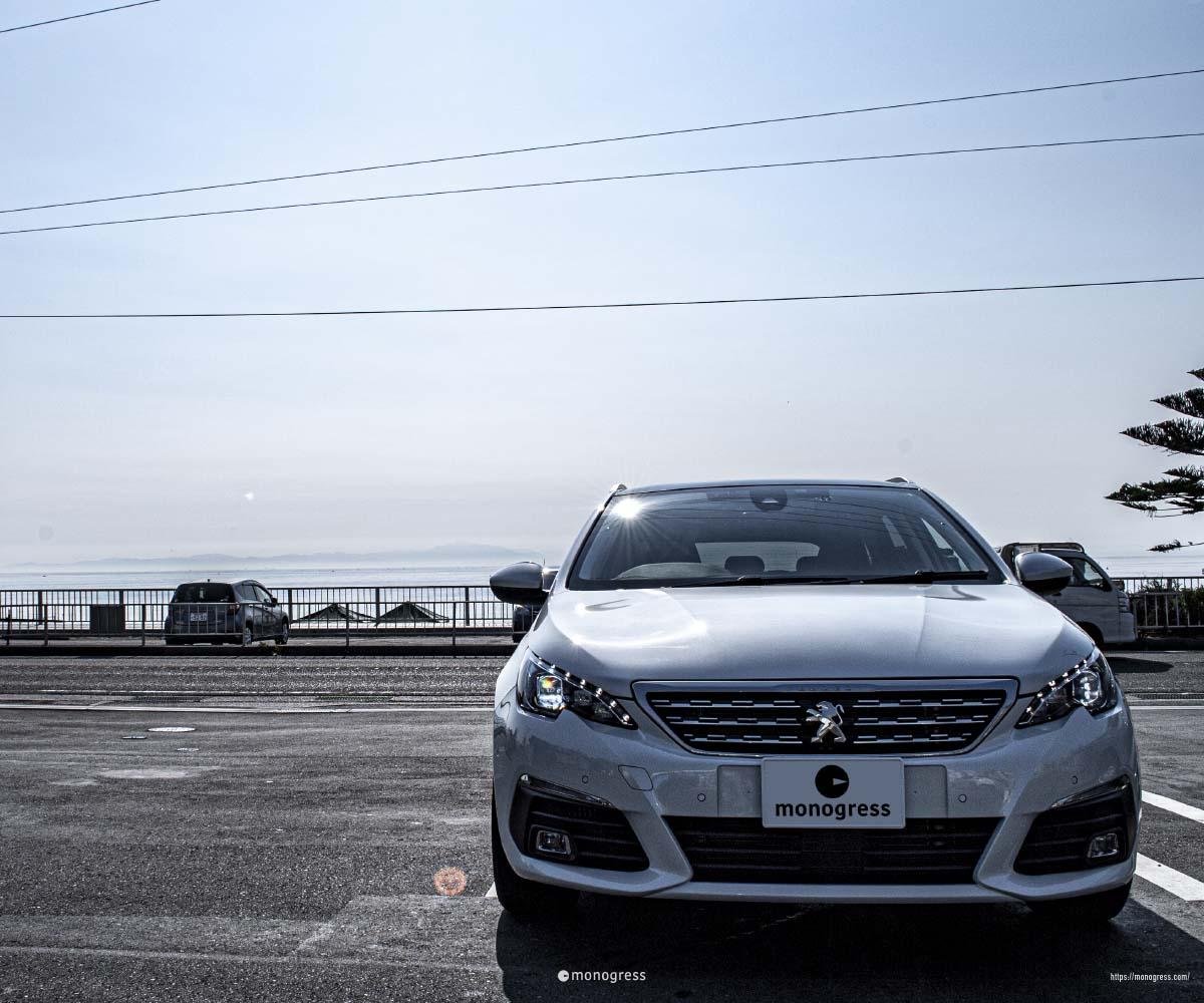 Peugeot 308SW in 三浦半島