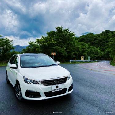 Peugeot 308SW 山道・峠道でのドライブフィール