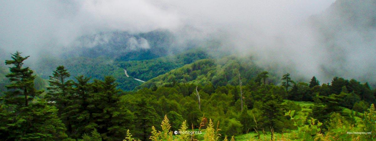 ホテルアンビエント安曇野からの景色