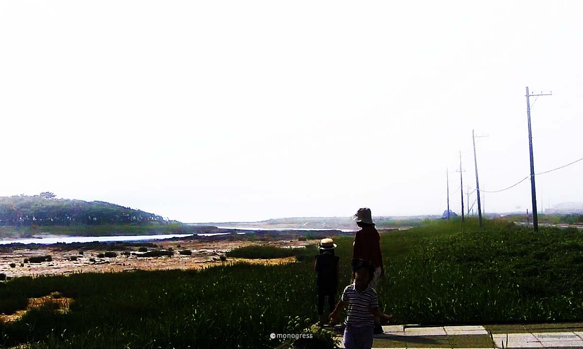 野付半島 ナラワラが見せる景色