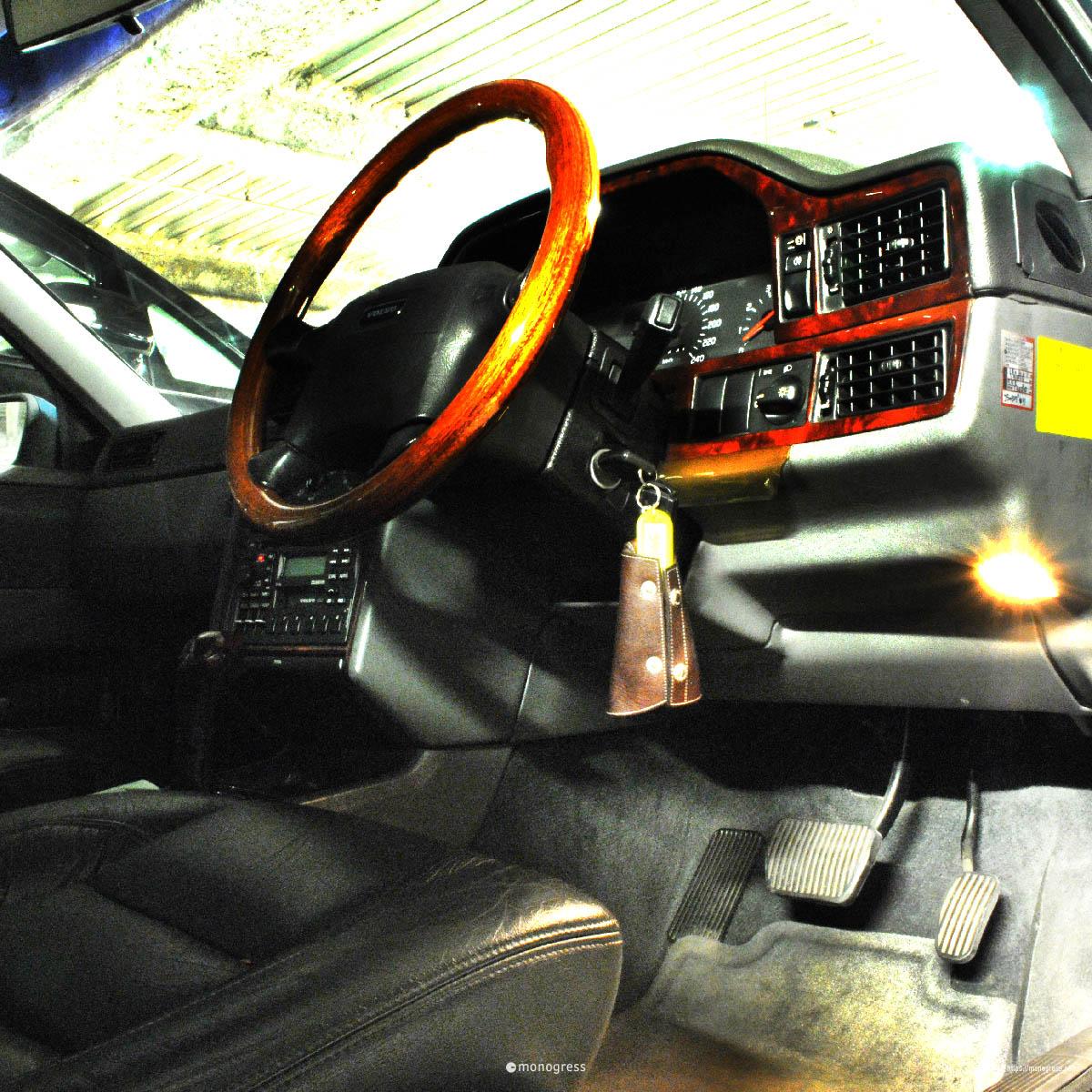 VOLVO 740 Cockpit