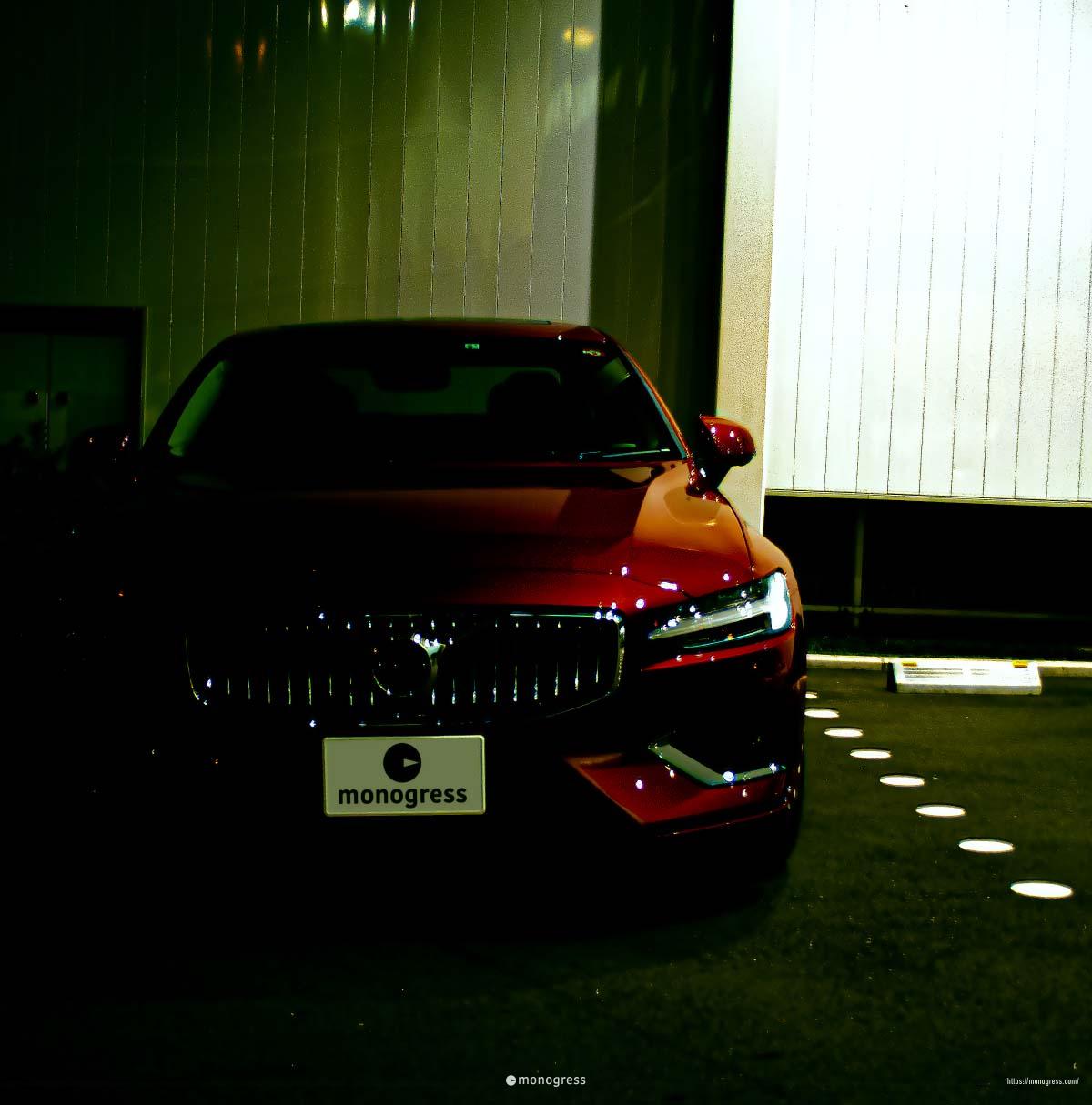 ボルボ S60 赤バージョンの