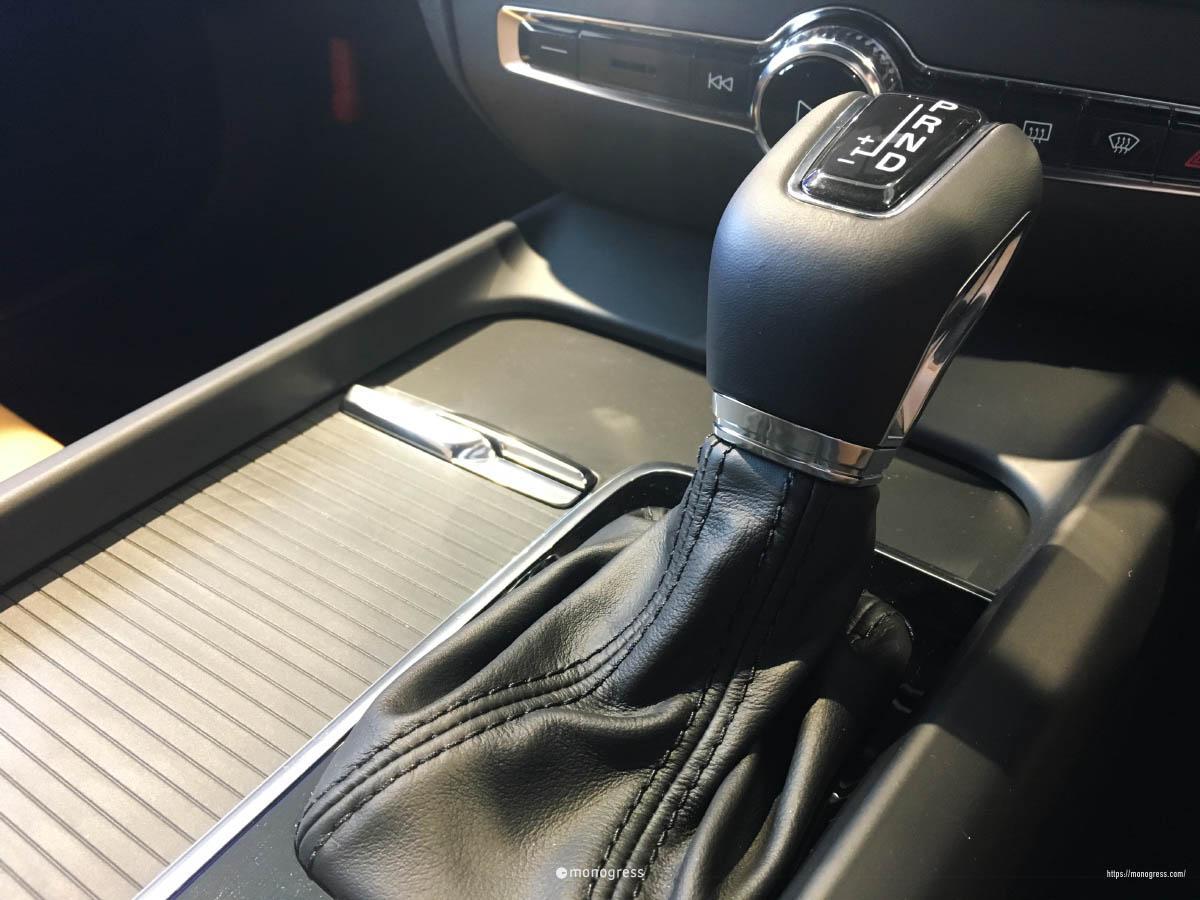 VOLVO V60 シフトレバー