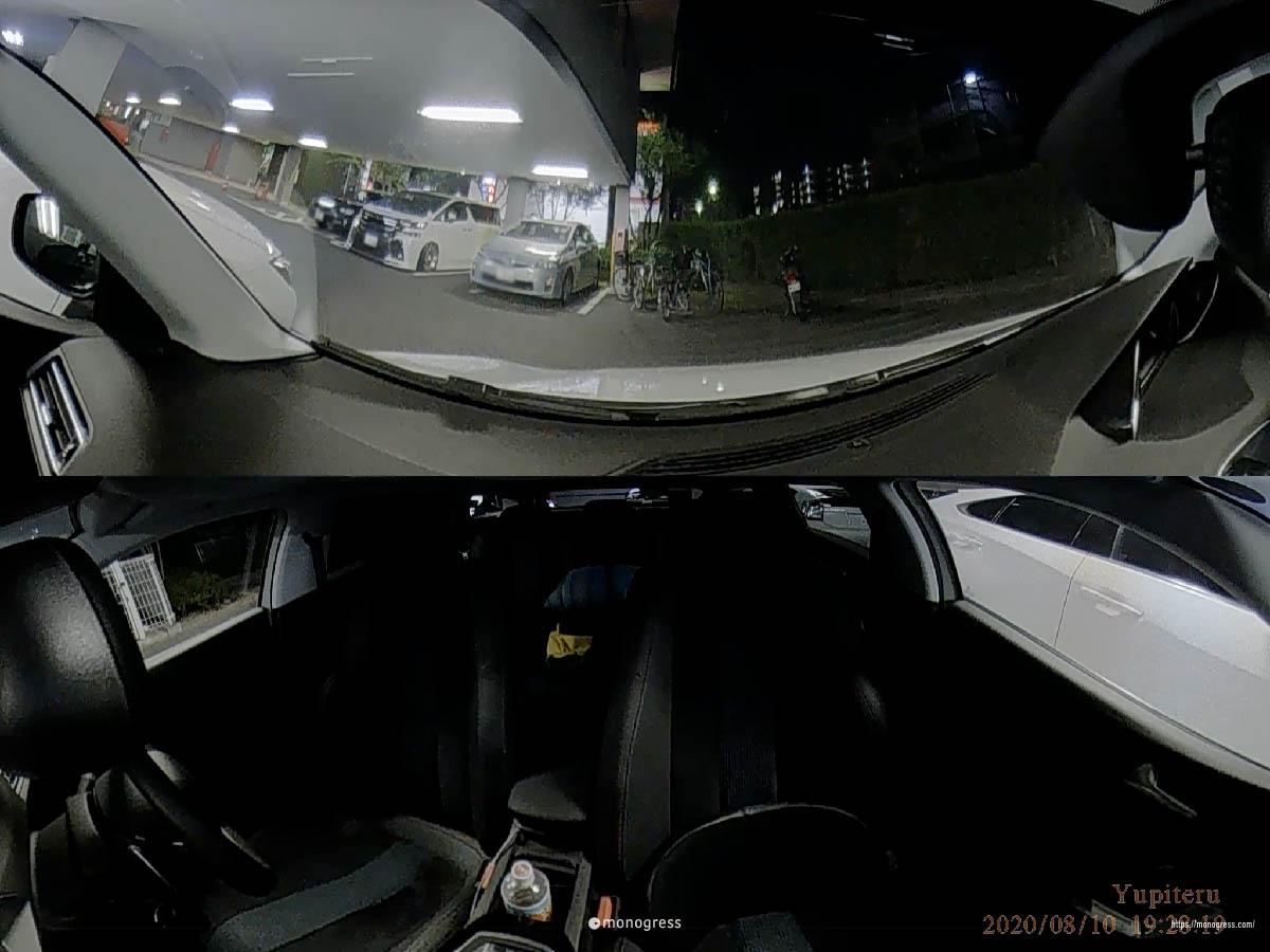 Yupiteru Q-20 夜間映像